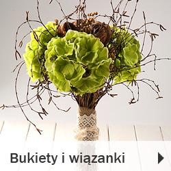 Bukiety i wiązanki z suszu i sztucznych kwiatów