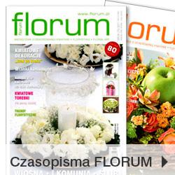Czasopisma florystyczne FLORUM